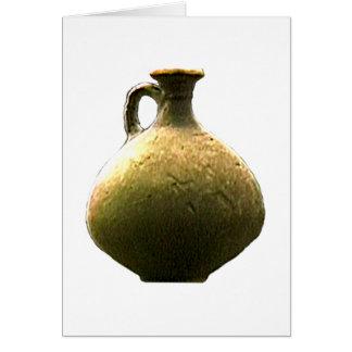 Cartão Cerâmica romana 1 do produto manufacturado de