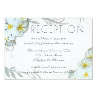 Cartão Cerco do local de encontro da recepção do Flourish