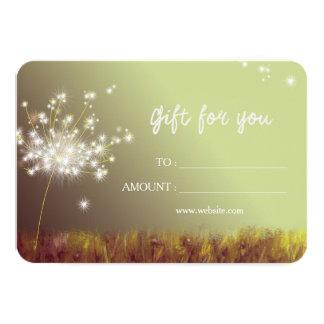 Cartão Certificado de presente do negócio dos
