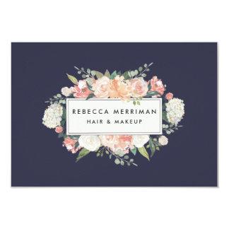 Cartão Certificado de presente floral antigo do logotipo