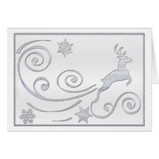 Cartão Cervos estilizados