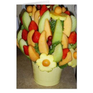 Cartão Cesta de fruta