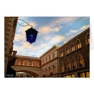 Cartão Céu Venetian Las Vegas