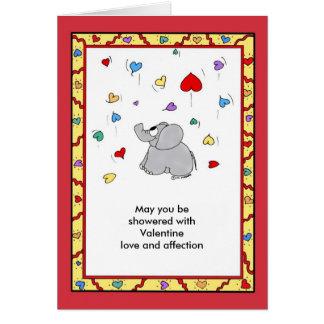 Cartão Chá da afeição - namorados