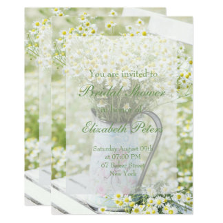 Cartão Chá de panela da flor da camomila das margaridas