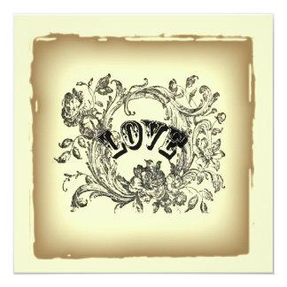 Cartão Chá de panela do victorian dos redemoinhos do
