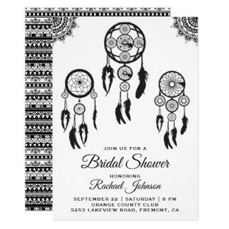 Cartão Chá de panela ideal tribal do coletor de Boho