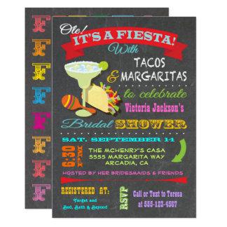 Cartão Chá de panela mexicano da festa do quadro