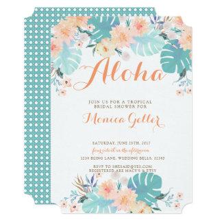 Cartão Chá de panela tropical