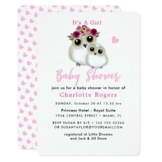 Cartão Chá macio irrisório bonito do bebé do coração do