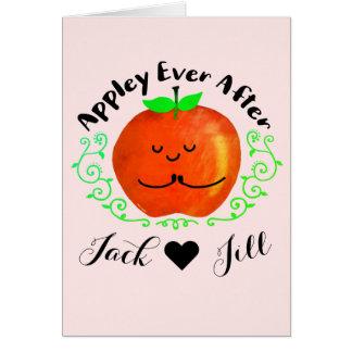Cartão Chalaça positiva de Apple - Appley sempre em