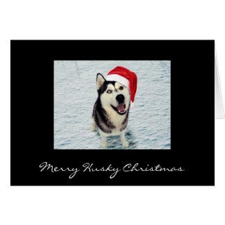 Cartão Chama - Natal ronco alegre