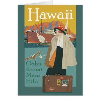 Cartão Chamadas de Havaí