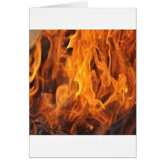 Cartão Chamas - demasiado quentes a segurar