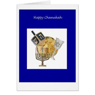 Cartão Chanukkah Dreidel