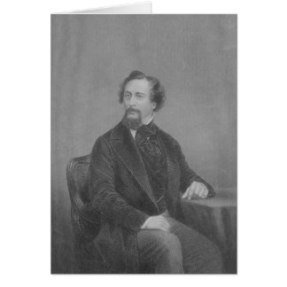 Cartão Charles John Huffam Dickens