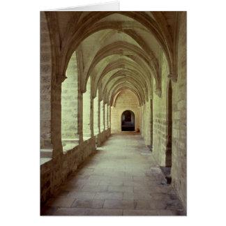 Cartão Chartreuse do claustro