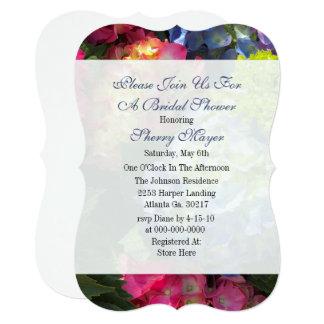 Cartão Chás de panela coloridos do Hydrangea