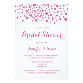 Cartão Chás de panela cor-de-rosa do champanhe