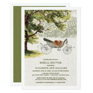 Cartão Chás de panela do carvalho do vintage