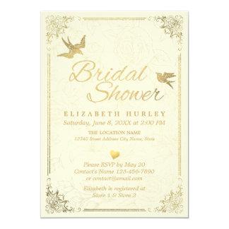 Cartão Chás de panela florais do quadro do roteiro do
