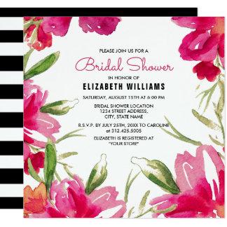 Cartão Chás de panela românticos do design floral
