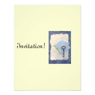 Cartão chave ideal do convite