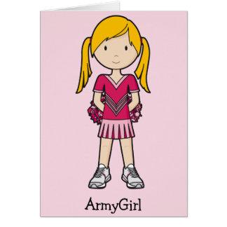 Cartão CheerGirl