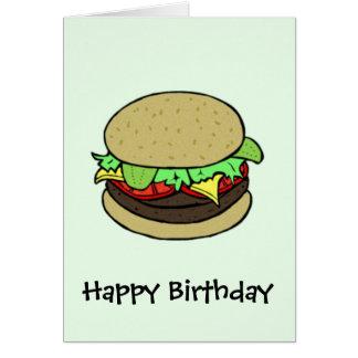 Cartão Cheeseburger