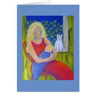 Cartão Cheio da mãe da benevolência