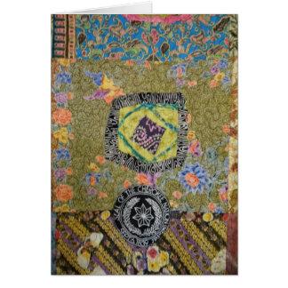 Cartão Cherokee da edredão