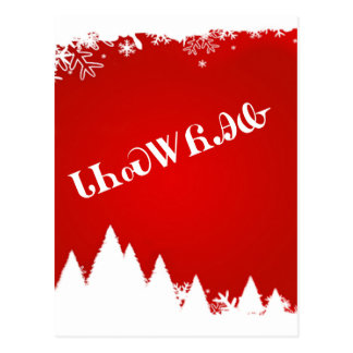Cartão Cherokee do Feliz Natal
