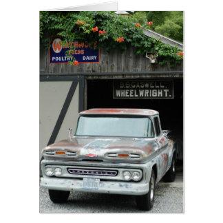 Cartão Chevrolet 1961 Apache 10