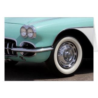 Cartão Chevrolet Corvette 1959
