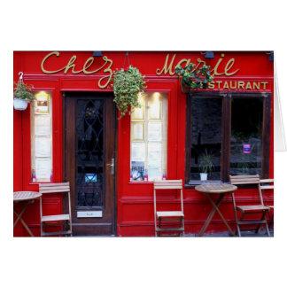Cartão Chez Marie
