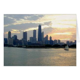 Cartão Chicago Sun