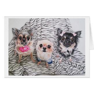 Cartão Chihuahua Notecards