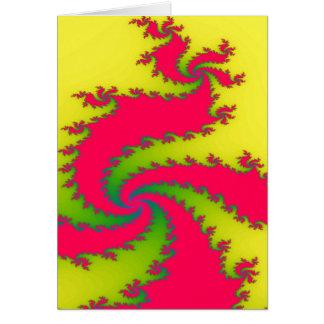 Cartão chinês do dragão do ano novo