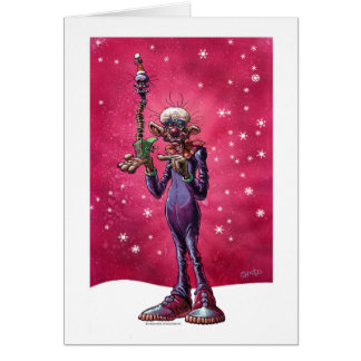 Cartão Chiodo Klownz Khristmas Kard