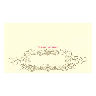 Cartão chique 1 da escolta do vintage cartão de visita