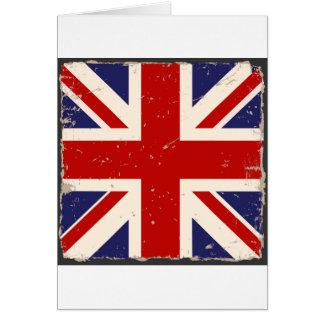 Cartão Chique de Union Jack