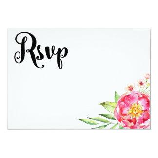 Cartão Chique floral RSVP