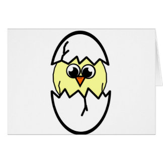 Cartão Chocando a galinha