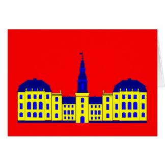 Cartão Christiansborg - amarelo