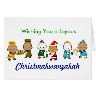 Cartão Christmakwanzakah