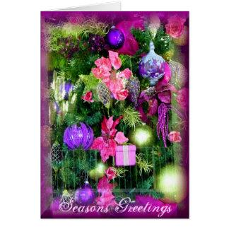 Cartão Christmas_ alegre