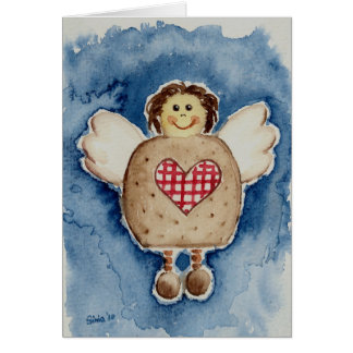 Cartão christmas angel