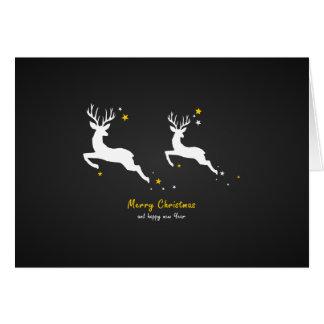 Cartão Christmas Deers
