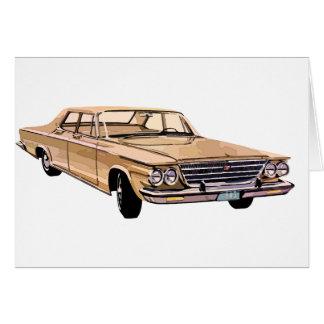 Cartão Chrysler 1963 Windsor