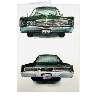 Cartão Chrysler 1967 300